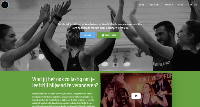 Yourlifecircle uw personal trainer in Alphen aan den Rijn