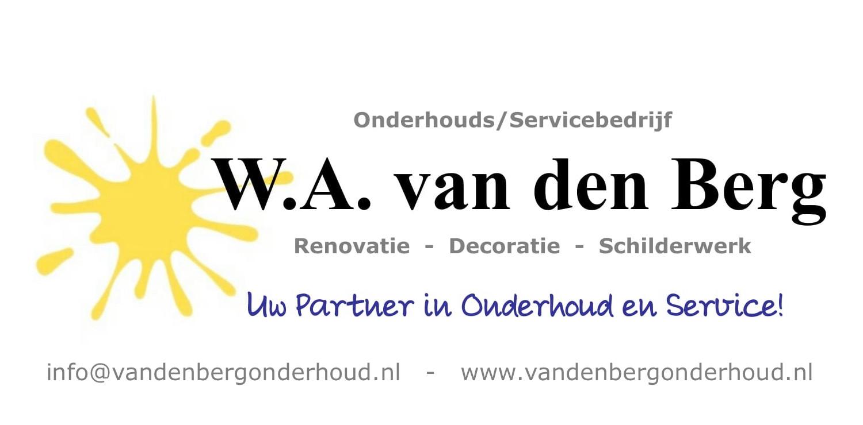Nieuwe Website – Van den Berg Onderhoud