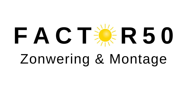 Nieuwe Website – Factor50 Zonwering en Montage