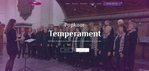 Nieuwe Website – Popkoor Temperament