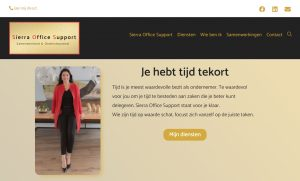 Nieuwe Website – Sierra Office Support