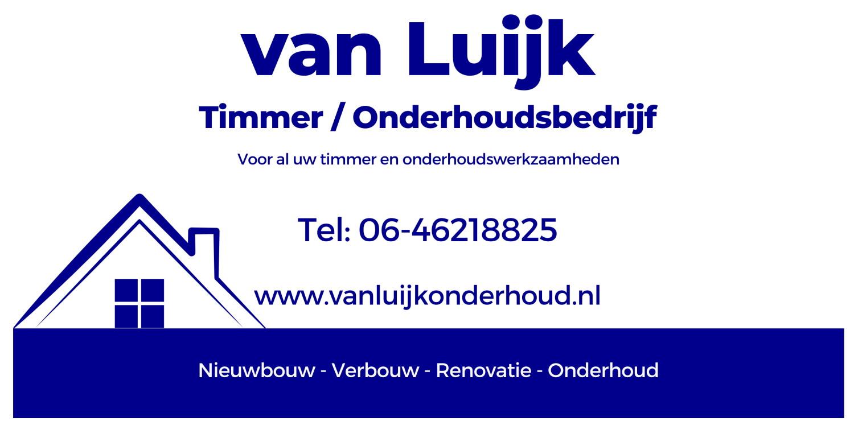 Bedrijfslogo – Van Luijk Timmer en Onderhoudsbedrijf