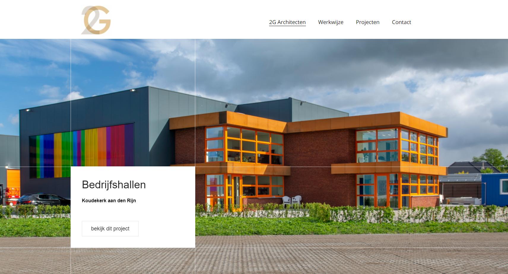 Lees meer over het artikel Nieuwe Website – 2G Architecten